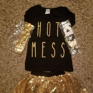 ADORABLE SIZE 3T/4T OUTFIT NEW no tags